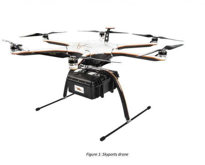 skyports drone